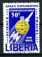 Liberia, 1963, Peaceful Use Of Outer Space, United Nations, MNH, Michel 605 - Liberia