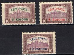 UNGHERIA - 1920 - SOVRASTAMPA LEGI POSTA - MH - Nuovi