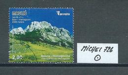 BOSNIEN HERZEGOWINA MICHEL 726 Gestempelt Siehe Scan - Bosnien-Herzegowina
