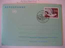 Vereinte Nationen Wien 1982- FDC Aerogramm - FDC