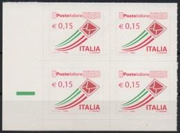 """Italia - Repubblica 2015 """"Posta Italiana €. 0,15, Nuovo Quartina - 6. 1946-.. Republic"""