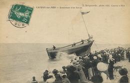 Lancement D' Un Bateau à Cayeux Sur Mer - Altri