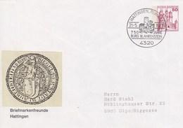 PU 112/9  Briefmarkenfreunde Hattingen Mit Vignette, Hattingen,Ruhr 13 - BRD
