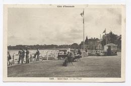 22. SAINT CAST--la Plage   -- RECTO/VERSO- B61 - Saint-Cast-le-Guildo