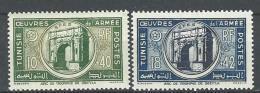 "Tunisie YT 326 & 327 "" Oeuvres De L'Armée "" 1948 Neuf** - Tunisie (1888-1955)"