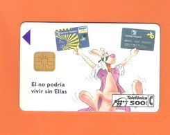 """CHIPCARD SPAIN P103  """"CENTRAL HISPANO""""  11/94 - EX: 5500 - USED - Emissions Privées"""