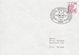 PU 112/19  Blanko Umschlag Mit 50 Pf Burgen Und Schösser, Bonn 1 - BRD