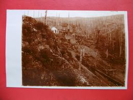HARTMANNSWILLERKOPF VIEIL ARMAND CARTE PHOTO JEANNE BURGET 1917 - Frankrijk
