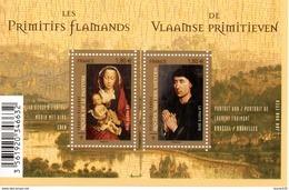 France.bloc Feuillet F4525 De 2011.les Primitifs Flamands.n**. - Sheetlets