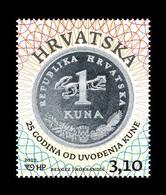 Croatia 2019 Mih. 1388 Croatian Kuna. Coin MNH ** - Croazia