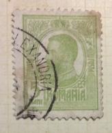 NAVIGAZIONE     ROMANIA 5 B.  CON ANNULLO CONSTANTA - ALEXANDRIA - Marittimi