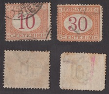 REGNO !!! 1870/90 LOTTO SEGNATASSE !!! S21/23 - 1861-78 Victor Emmanuel II.