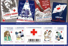 France.bloc Croix Rouge F4520 De 2010.n**. - Sheetlets