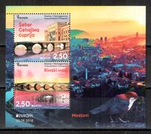 Bosnien-Herzegowina / Bosnia-Herzegowina Sarajevo / Bosnie-Herzégowine 2018 Block/souvenir Sheet EUROPA ** - 2018