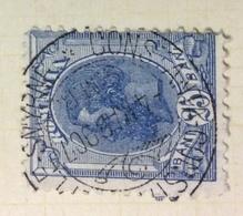 NAVIGAZIONE    ROMANIA   25 B.  CON ANNULLO  CONSTANTA - CONSTANTINOPLE - SMIRNE  4/3/1907 - Marittimi