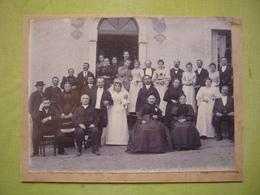 Photo 19ème ? Un Mariage à Vals Les Bains Ardèche 17 X 23 Cliché Ferrand à Vals - Anciennes (Av. 1900)