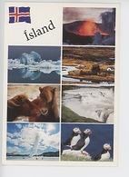 Island Iceland : Fimmvörouals 2010 Jökulsarion Pingvellir Gullfoss Blàa Lonio Puffin (macareux Chevaux Volcan - Islande