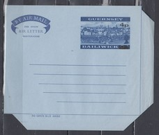 Air Mail Aerogramme Guernsey Bailiwick - Guernesey