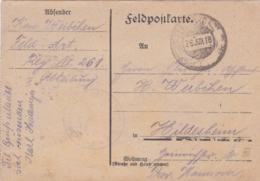 German Feldpost WW1: From Verdun In France Serving 197. Infanterie Division - Feld Artillerie Regiment 261 - Militaria
