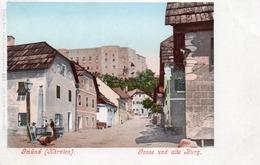 GMUND-KARNTEN-GASSE UND ALTE BURG-1900-NON VIAGGIATA - Feldkirchen In Kärnten