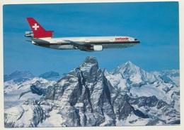 AK  Flugzeug Airplane  Swissair DC 10 - 1946-....: Modern Tijdperk
