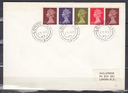 Brief Van London (587) - Lettres & Documents