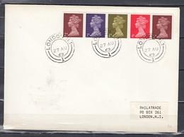 Brief Van London (588) - Lettres & Documents