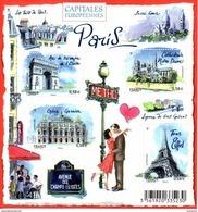 France.bloc No F4514 De 2010.capitales Européennes.paris.n**. - Blocs & Feuillets