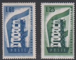 Italy Republic S 803-804 1956 Europa, Mint Never Hinged - 6. 1946-.. Republik