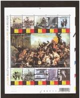 3357/66** BLOK 119** Tafereel V/d Septemberdagen/ 175 Jaar België - Bloc 119 MNH - Belgium