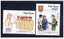 Vietnam Viet Nam MNH Stamps 2000 : 55th Anniversary Of Vietnamese Police (Ms834) - Vietnam