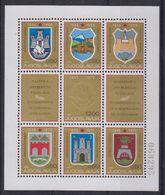 Yugoslavia 1970 Liberation Anniversary / Coat Of Arms M/s ** Mnh (43077) - Neufs