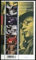 Blok 145** Belgische Film. Henri Storck - Postfris  3678/82** Cinéma Belge Cote 7€ - Belgium