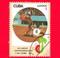 CUBA - Nuovo Obl. - 1982 - Giochi Centro-americani E Caraibici - Baseball - 1 - Cuba