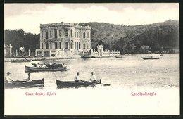 AK Constantinople, Eaux Douces D`Asie - Türkei
