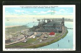 AK Panama Canal, Planta Carbonera Terminal Del Atlantico, La Mas Grande Del Mundo En Su Clase, Cristobal - Panama