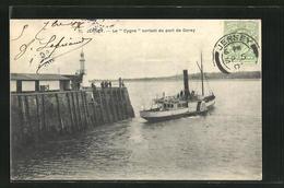 Pc Jersey, Le Cygne Sortant Du Port De Gorey - Jersey