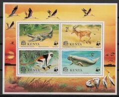Kenya - 1977 - Bloc Feuillet BF N°Yv. 9 - Faune / WWF - Neuf Luxe ** / MNH / Postfrisch - Kenya (1963-...)