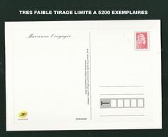 MARIANNE DE L'ENGAGEE CARTE ENTIER TIRAGE LIMITE 5200 EXEMPLAIRES - 2018-... Marianne L'Engagée