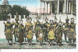 151 - PHNOM-PENH - GROUPE DE DANSEUSE ( Animées ) CAMBODGE - Cambodge
