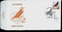 FDC Du N° 2653  Koperwiek  /  Grive Mauvis   Obl. Spa  29/06/1996 - 1985-.. Oiseaux (Buzin)