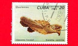 CUBA - Nuovo Obl. - 1983 - Tartarughe - Turtle - Caretta Caretta - 20 - Cuba
