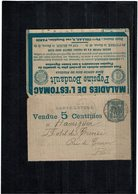 LCA7 - CARTE LETTRE ANNONCE 8° ED. CIRCULEE TB - Postal Stamped Stationery