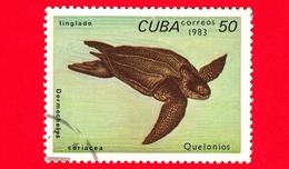 CUBA - Nuovo Obl. - 1983 - Tartarughe - Turtle - Dermochelys Coriacea - 50 - Cuba