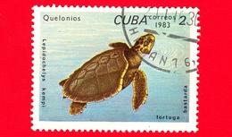 CUBA - Nuovo Obl. - 1983 - Tartarughe - Turtle - Lepidochelys Kempii - 2 - Cuba