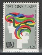Nations Unies (Genève) - YT 126 ** MNH - 1984 - Genf - Büro Der Vereinten Nationen