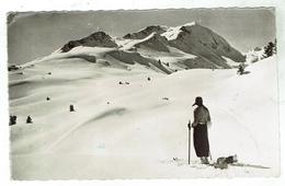 ARECHES ( Beaufort)  Le Grand Mont -  Circulée 1962 Format 9 X 14 - Beaufort
