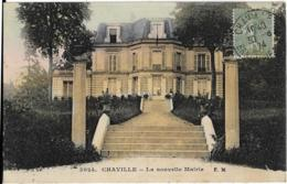 D92 - CHAVILLE - LA NOUVELLE MAIRIE - Carte Colorisée - Chaville