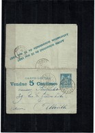 LCA7 - CARTE LETTRE ANNONCE 3° ED. CIRCULEE TB - Postal Stamped Stationery