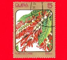 CUBA - Nuovo Obl. - 1984 - Fiori Caraibici - Triplaris Surinamensis - 5 - Cuba
